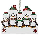 pegtopone Adorno para árbol de Navidad, familias supervivas, adornos para árbol de Navidad,...