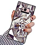 PERRKLD Samsung Galaxy S8 Plus Squared Case Heavy Duty