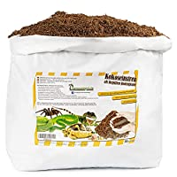 ECO-FRIENDLY COCO HUSK: It is a natural type of aspen bedding for reptiles. That keeps terrarium humidity at a high level. It is thoroughly non-abrasive and non-toxic and is fully biodegradable. It is also an ideal medium for egg-laying, thanks to it...
