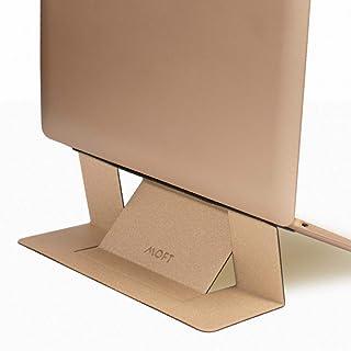 【正規代理店】MOFT ノートパソコン スタンド PCスタンド テレワーク 折りたたみ 超軽量 超極薄 Macbook Pro/Air/タブレット/その他ノートPC 15.6インチまで対応(ゴールド)