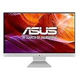 ASUS Vivo AiO V241FAK-WA040D - Sobremesa Todo en uno de 23.8' FullHD (Intel Core i3-8145U, 16 GB RAM, 512 GB SSD, Intel UHD Graphics 620, Endless OS) Blanco y Plata - Teclado QWERTY español
