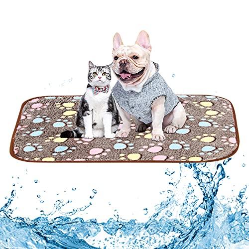 Colchoneta de enfriamiento para Mascotas,Alfombrilla de enfriamiento Perros,colchonetas frías Perros Manta Refrigerante Perro Alfombrilla de Refrigeración Alfombra Refrescante para Perros y Gatos