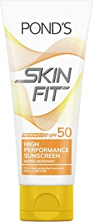 Pond's Skin Fit Pre Work Out High Performance Sunscreen SPF50, 100 g