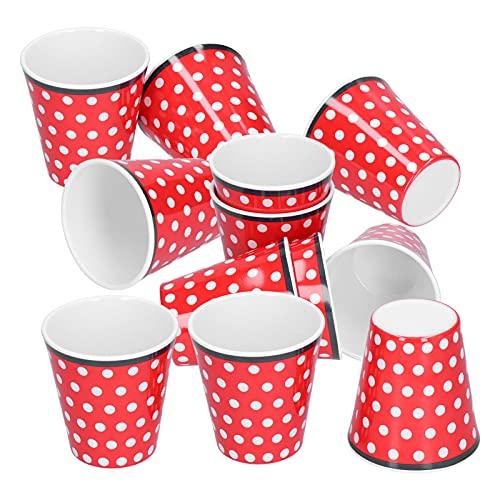 Crisis Juego de Tazas, Taza de melamina, Taza de té, Suministros para Beber para Restaurante, Escuela de Estudiantes para niños, niñas y niños