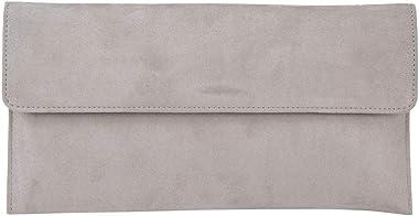 Anna Cecere Clutch ACX 429 Grau Handtasche aus Ökokamoskol