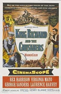 King Richard and the Crusaders Movie Poster (20 x 40 Inches - 51cm x 102cm) (1954) -(George Sanders)(Rex Harrison)(Laurence Harvey)(Virginia Mayo)(Robert Douglas)(Michael Pate)