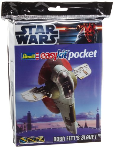 Revell 06736 - Easy Kit Mini-Steckmodell - Boba Fett's Slave I Pocket im Maßstab 1:160