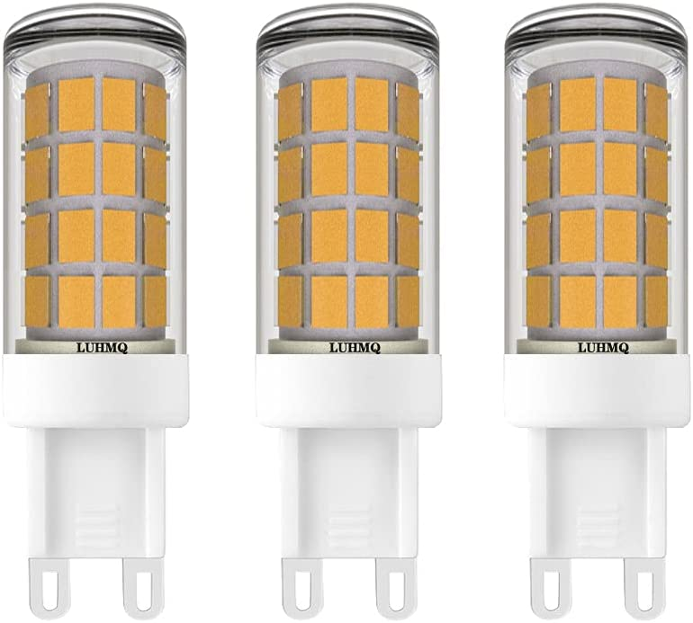LUHMQ G9 LED Bulbs 3 Pack Chandelie Corn bi-pin Inventory cleanup selling sale outlet Base Bulb for
