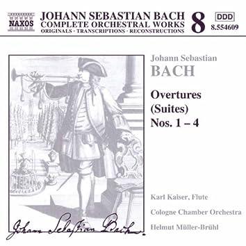 BACH, J.S.: Orchestral Suites Nos. 1-4, BWV 1066-1069
