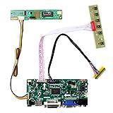 HDMI + VGA + DVI + Tarjeta de control de entrada de audio LCD para LTN154AT07 LTN141AT02 14.1 '15.4' 1280x800 1CCFL 30Pin LCD Panel