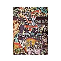 木製パズル Oasis 500ピース ジグソーパズル 遊び 雰囲気 減圧 おもちゃ 漫画 壁飾り 学生 子供 大人 絵画 贈り物