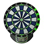 Triumph Lumen-X 100 Light Up Electronic Dartboard with LCD Display, 32 Games, and Included Dart Set