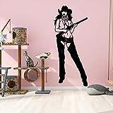 yaonuli Cartoon Cowgirl Wandaufkleber Wandtapete Dekoration Wohnzimmer Schlafzimmer Removable...