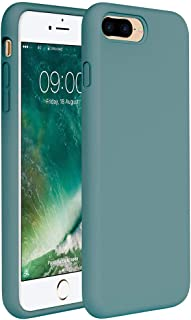 Miracase iPhone 8 Plus Case, iPhone 7 Plus Case, Shockproof Silicone Case with Full Body Protection, Anti-Scratch Microfib...