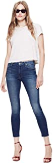 LUKEEXIN Women's Jeans Blue High-Waisted Jeans Leggings