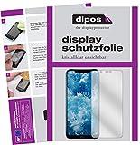 dipos I 6X Schutzfolie klar kompatibel mit Nokia 8.1 Folie Bildschirmschutzfolie