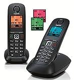Gigaset Schnurlostelefon mit 2. Mobilteil A540 Duo