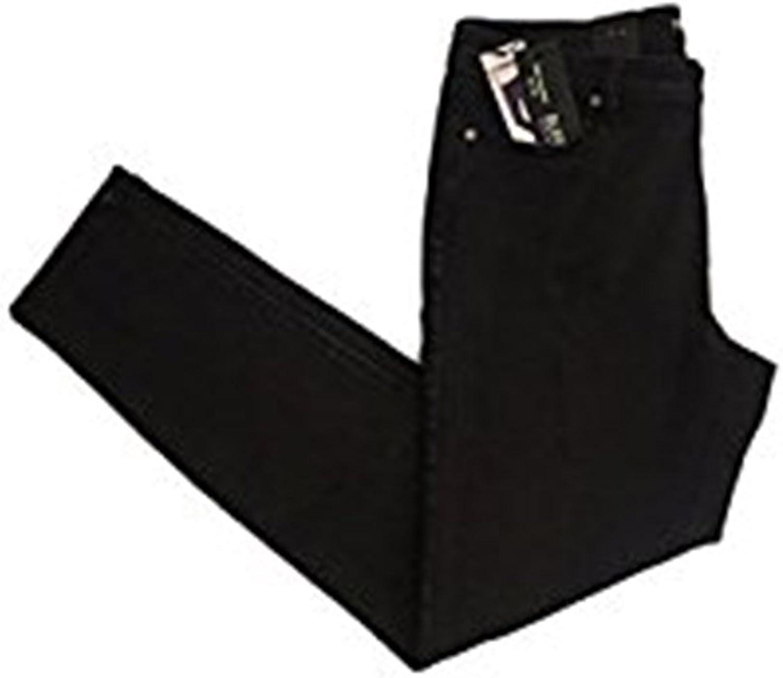 Buffalo David Bitton Women's Midrise Skinny Black Jeans