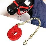 Aisheny Fune di Trazione per Testa di Cavallo Estrattore Portatile per Bestiame Trazione p...