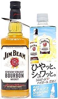 ジム ビーム ホワイト ラベル 正規品 700ml バーボンウイスキー 南アルプススパークリング付 ((YEJBRWJ0))