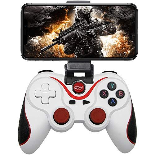 Megadream Android Game Controller, PUBG Mobile Game Controller, Wireless Key Mapping Gamepad Joystick for PUBG & Fotnite & COD, Compatible for Samsung Galaxy LG HTC Other Phone Tablet