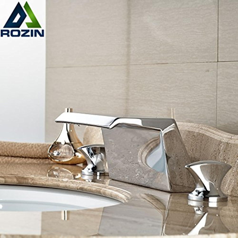 Maifeini Ein Neues Und Modernes Wasserfall Becken Installieren Tippen Badarmaturen Deck Breite Klicken Sie Auf Verchromte Oberflche