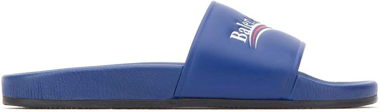 Balenciaga Herren 530562WAM004045 Blau Leder Sandalen Sandalen Sandalen B07JVDF26M  0800cb