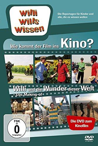 """Willi will's wissen: Wie kommt der Film ins Kino? + Making Of """"Willi und die Wunder dieser Welt"""""""