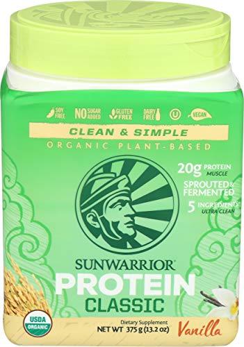 Sunwarrior Protein Classic, Protein Classic (375g) Vanilla, Protein Classic (375g) Vanilla
