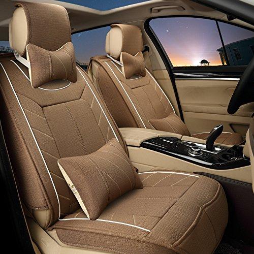 AMYMGLL Tout autour de Coussin Universal Car Set Linen Deluxe Edition (13Réglez) Cinq coussins Général de voitures Four Seasons Universal 4 Couleurs options , #32