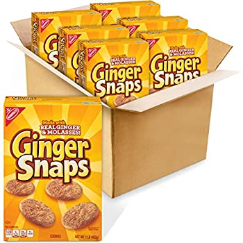 Ginger Snaps Cookies 6 - 16 oz Boxes