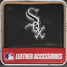 Rico Chicago MLB Baseball White Sox Embroidered Leather Trifold Wallet