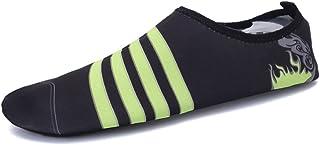 Zapatos de agua Amantes de natación Zapatos de buceo Zapatos de vadeo en la playa Zapatos deportivos Sandalias descalzas Ligero y ligero