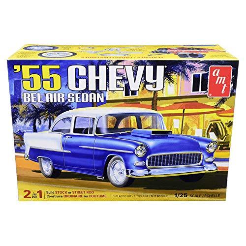 AMT 1955 Chevy Bel Air Sedan 1:25 Scale Model Kit