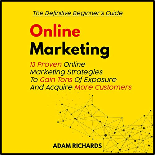 Page de couverture de Online Marketing