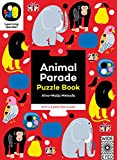 Image of Animal Parade: Puzzle Book - With a 6 piece floor puzzle! (The Learning Garden)