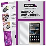 dipos I 6X Schutzfolie klar kompatibel mit Huawei P8 Max Folie Bildschirmschutzfolie