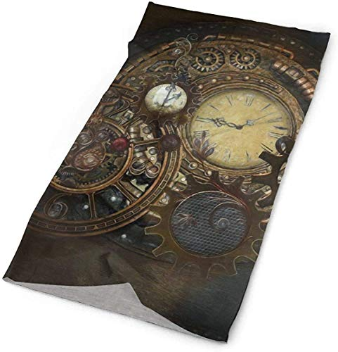 Quintion Robeson Bandas para la Cabeza Sombreros Steampunk Relojes Bandana Sweatband Head...
