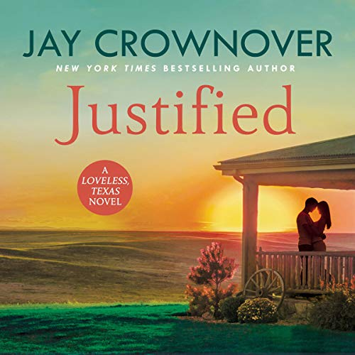 Justified audiobook cover art