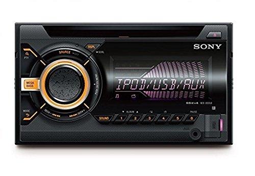 Sony WX900BT.EUR - Reproductor de CD/MP3 para coche (tamaño 2DIN,...