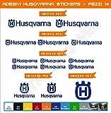 Pimastickerslab Kit Husqvarna Selbstklebende Aufkleber, 14-teilig?SCEGLI Colore- Motorrad Cod. 0463 - Blu Royal cod. 049