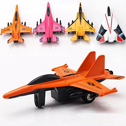 Avión de juguete de metal fundido de 4.5