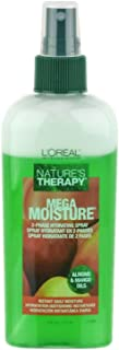 L'OREAL L'oreal nature's therapy mega moisture 2-phase hydrating spray, 6 Ounce, 6 Ounce