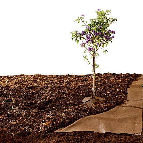 Biogreen MM10 1.5 x 10m Bio-Mulch Fleece Weedstop - Brown