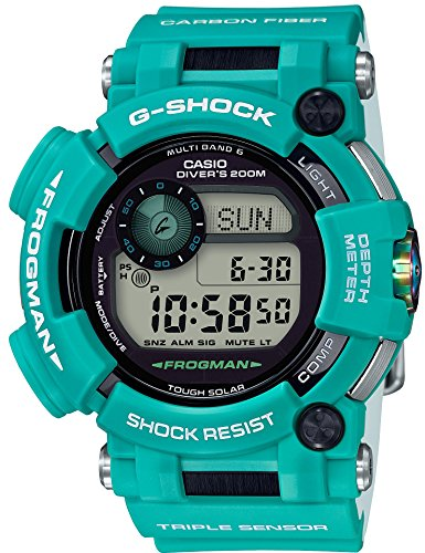 [カシオ] 腕時計 ジーショック FROGMAN マスターインマリンブルー 電波ソーラー GWF-D1000MB-3JF