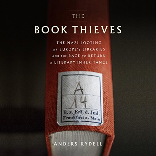 The Book Thieves audiobook cover art