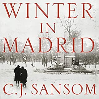Winter in Madrid audiobook cover art