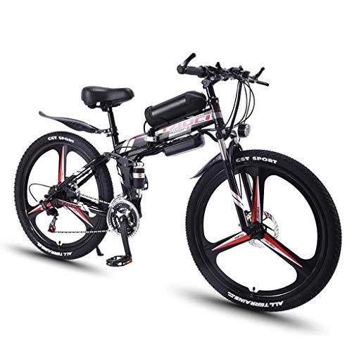 JXXU 26 '' de Bicicleta eléctrica Plegable Bicicletas de montaña for Adultos...