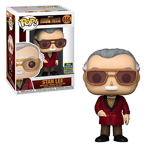 POP Funko Iron Man 656 Stan Lee Summer Convention 2020