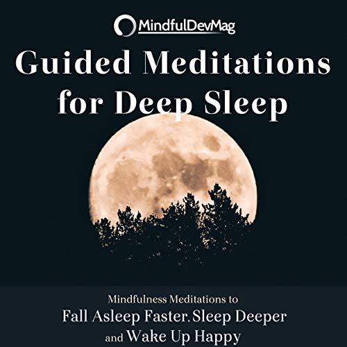 Guided Meditations for Deep Sleep audiobook cover art
